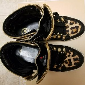 Michael Kors High top sneakers printed US 6